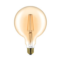 LED Globe style vintage G120 E27 630lm 7W DIM blanc chaud 57577200