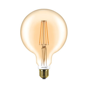 Philips LED Globe Vintage Style G120 E27 630Lm 7W warm wit DIM 57577200