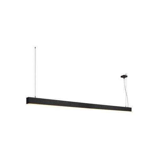 Hanglamp 2m LED Glenos zwart 1001406