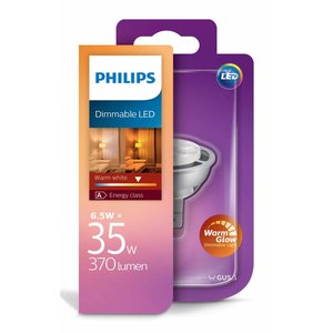 Philips LED MR16 6.5W-35W Glow chaud dimmable
