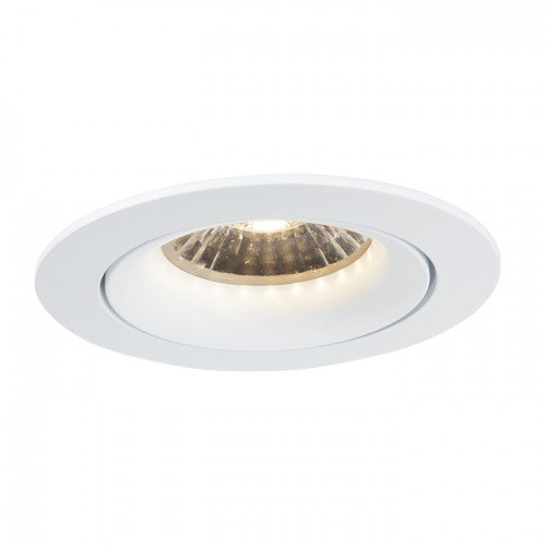 LioLights Spot à LED dimmable encastrable Bloss 85 blanc