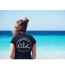 At Aloha At Aloha Dames shirt ( rugprint ) Black