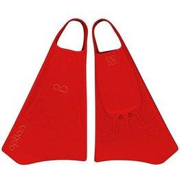 Option Option Bodyboard Fins 42-44 Rood
