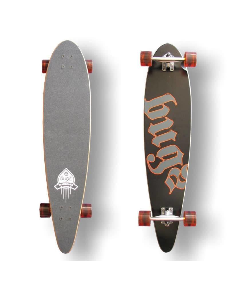 Bugz Bugz Longboard Skateboard Pintail 102