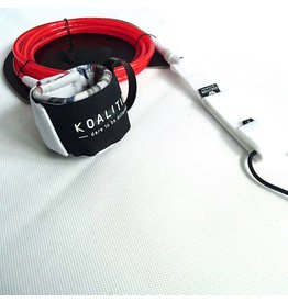 "Koalition Koalition Knee Leash 9.0"" 7mm Cobe Red"