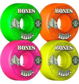Bones Bones 100's $ Wheel 100A 53mm Assorted Color