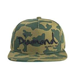 Diamond Diamond Script Cap Camo