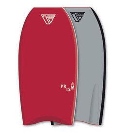 Flood Flood Bodyboard Prism Stringer 44 Rood Grijs