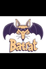 """Spooked Kooks Spooked Kooks Bat Rat 4,11"""" Pretty Much Black"""