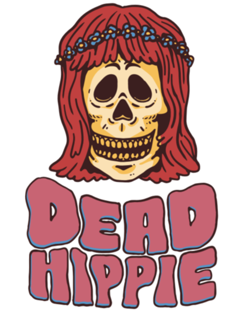 """Spooked Kooks Spooked Kooks Dead Hippie 8.0"""" Dusty Pink"""