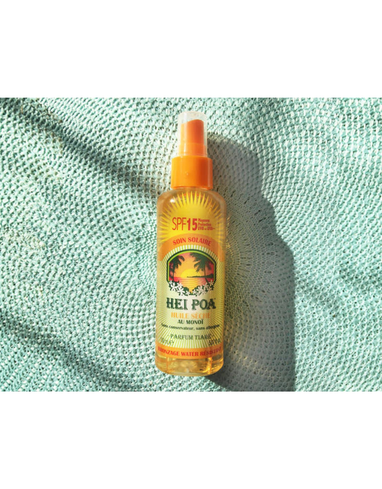 Hei Poa Hei Poa Sun Oil SPF 15 Tiare