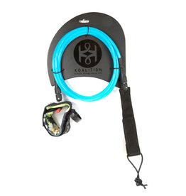 Koalition KOALITION Surfboard Knee Leash 9.0 245cm 7mm Blauw