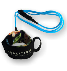 Koalition KOALITION Surfboard Leash 9.0 245cm 7mm Waikiki Blauw