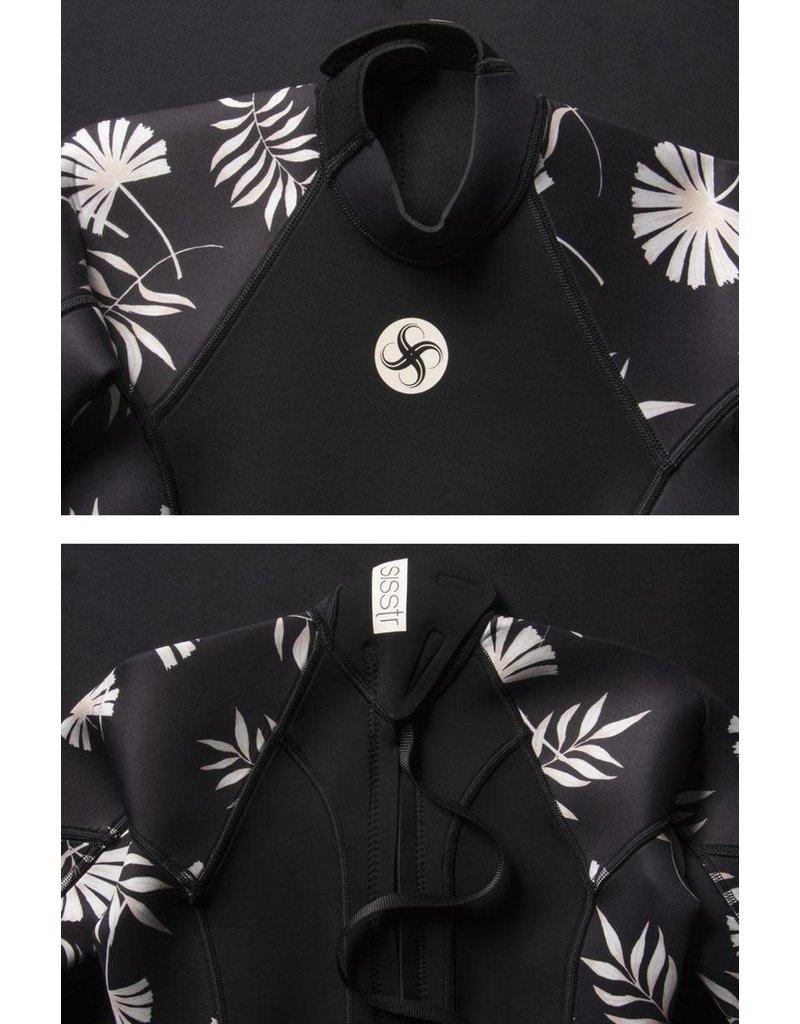 SISSTR Sisstr 7 Seas 3/2 printed women's  full wetsuit