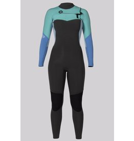 SISSTR Sisstr 7 Seas 3/2 chest zip women's wetsuit