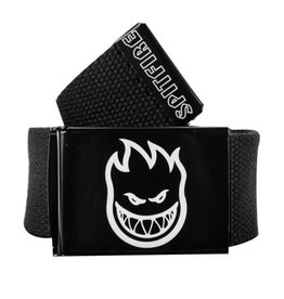 Spitfire Spitfire Bighead Hombre Outline Web Belt Black/White