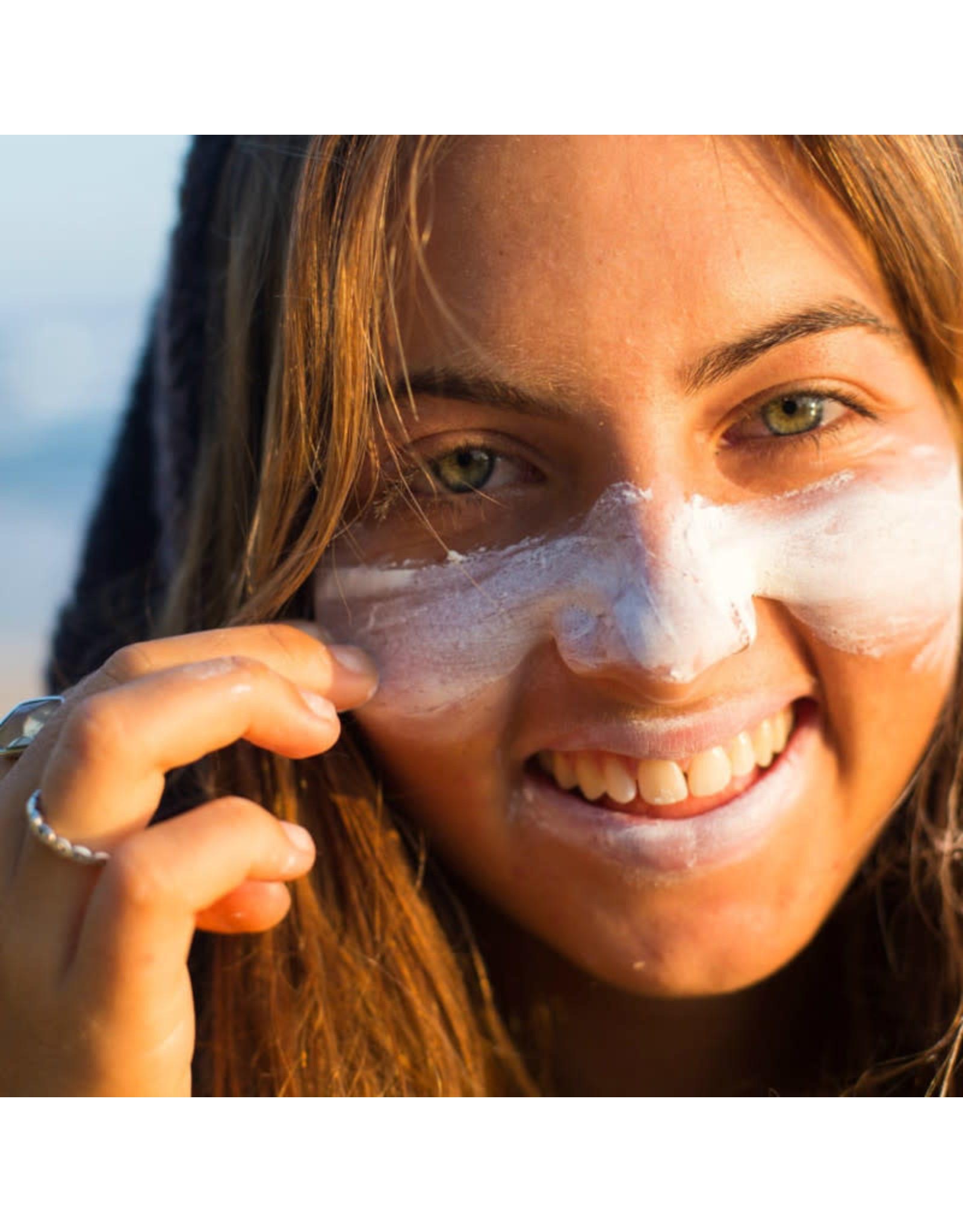 Suntribe Suntribe Face & Sport Natural Sunscreen Zinc - SPF 30 - Wit