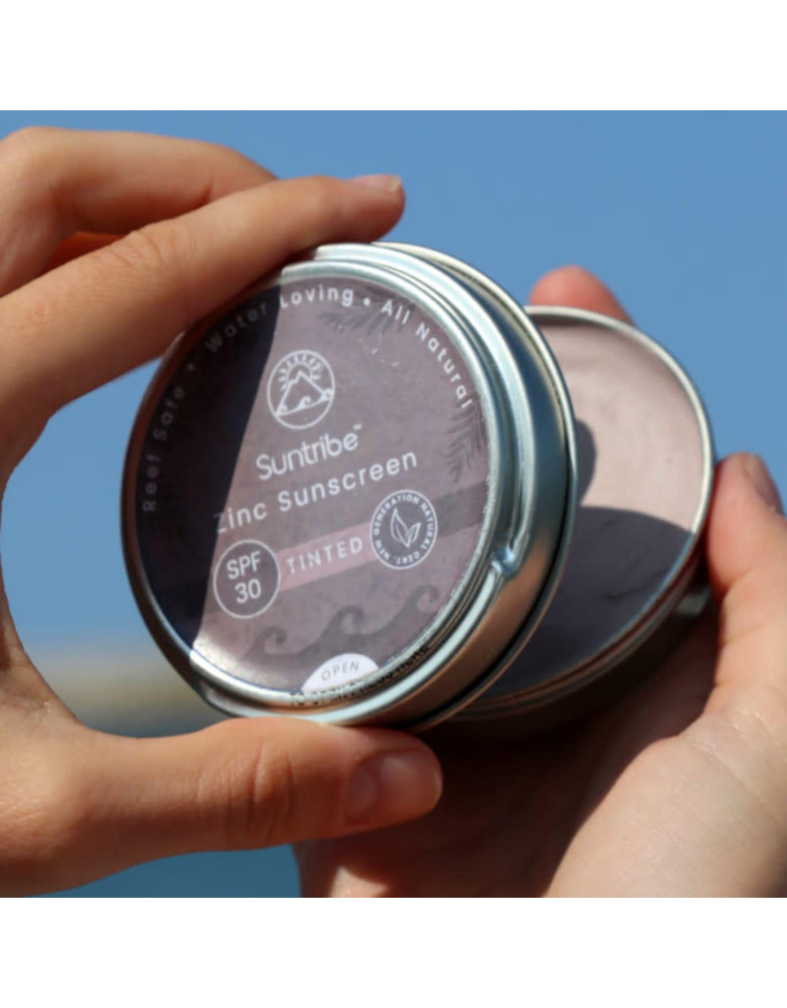 Suntribe Suntribe Face & Sport Natural Sunscreen Zinc - SPF 30 - Tan Mud