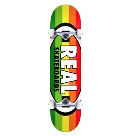 Real Real Oval Stripes XL 8.25 Skateboard Compleet