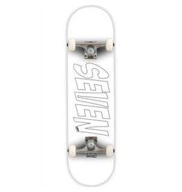 Seven Skates Seven Skates Essential Logo White 8.25