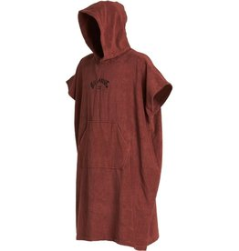 Billabong Billabong Hooded Poncho Wine