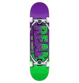 Real Real Slime Fades 8.0 Skateboard Compleet