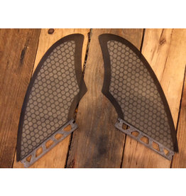 Madness Futures Keel Fin Black Clear