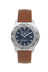 Rip Curl Rip Curl Large Heat Bezel Leather Watch