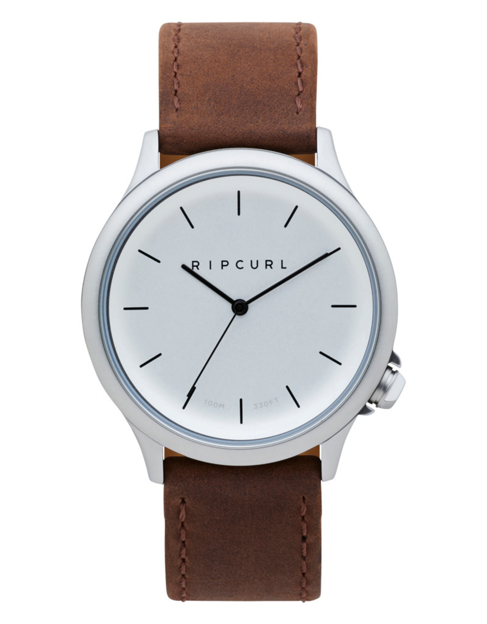 Rip Curl Rip Curl Current Leather Watch Silver