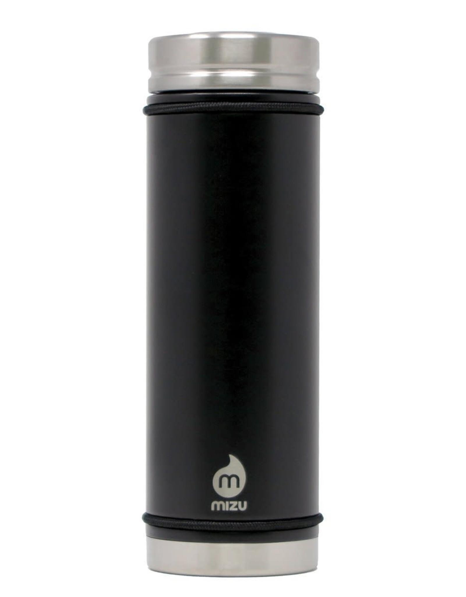 Mizu Mizu Thermosfles V7 VACUUM LID 600 ml Insulated  Enduro Black