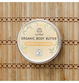 Suntribe Suntribe Organic Body Butter Grapefruit Almond Oil 150ml