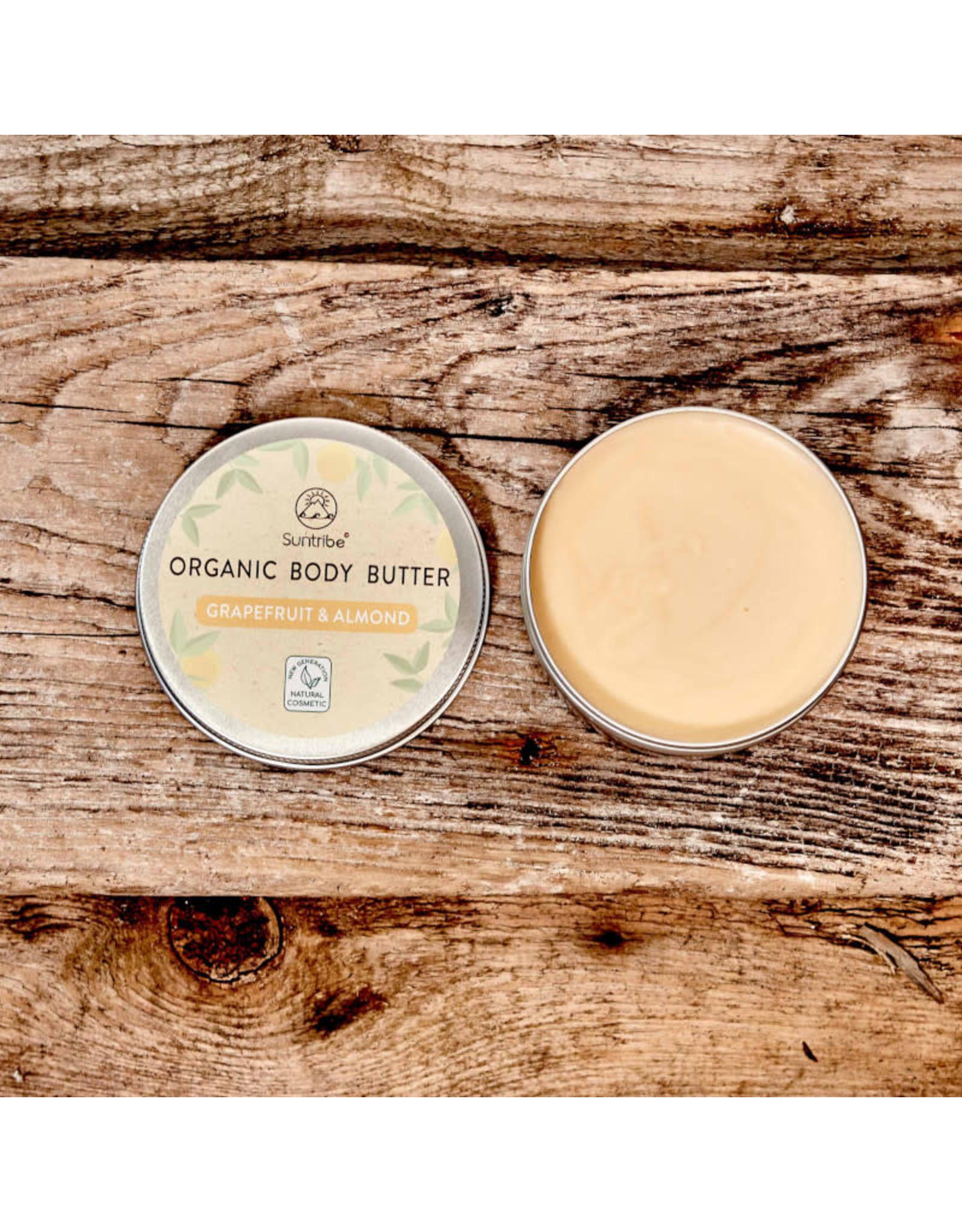 Suntribe Suntribe Organic Body Butter Grapefruit Almond Oil 150ml