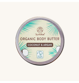 Suntribe Suntribe Organic Body Butter Coconut Argan Oil 150ml