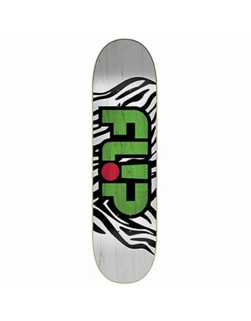 Flip Flip Skate Deck Odyssey Zebra  7.81