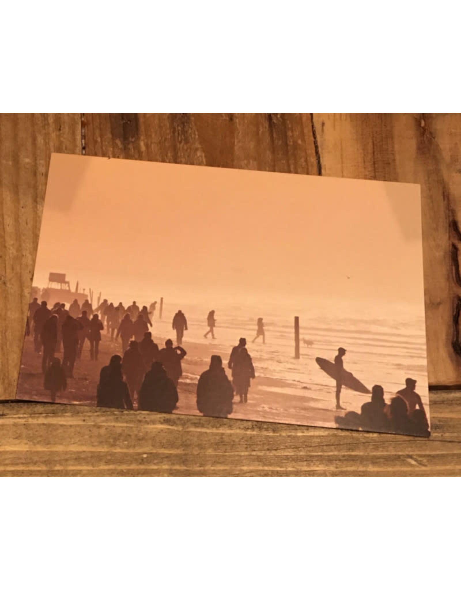 Ansichtkaart Zandvoort Strand Drukte