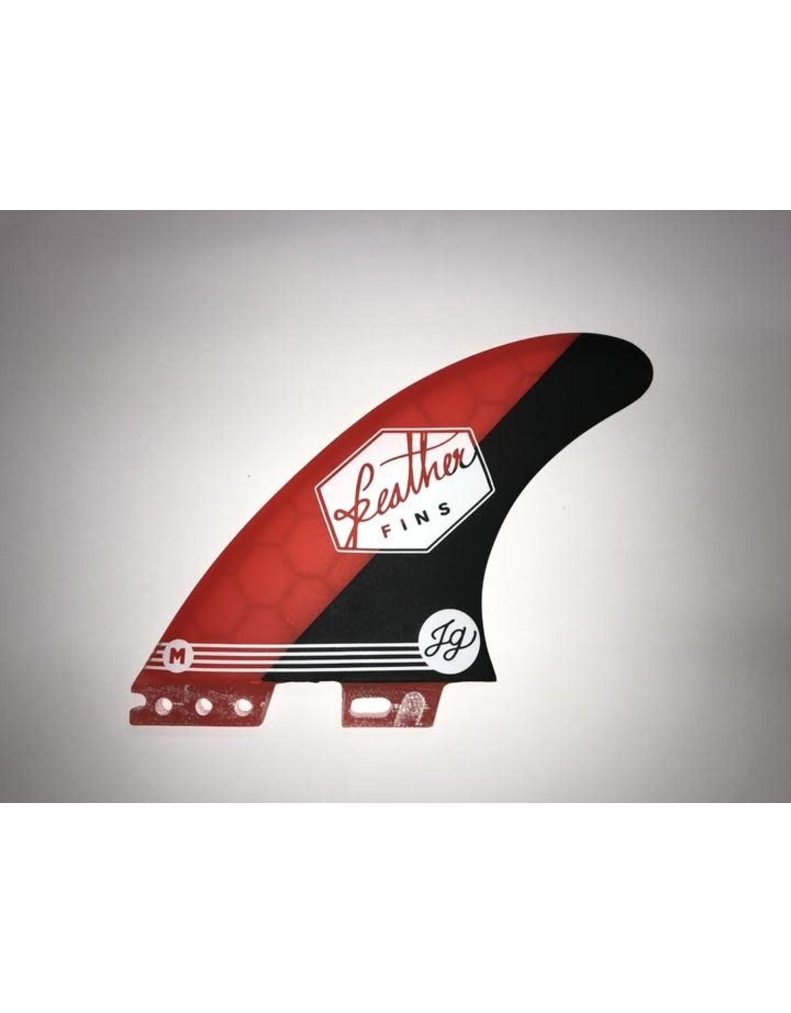 Feather Fins Feather Fins Jonathan Red HC Click Tap FCS II Large