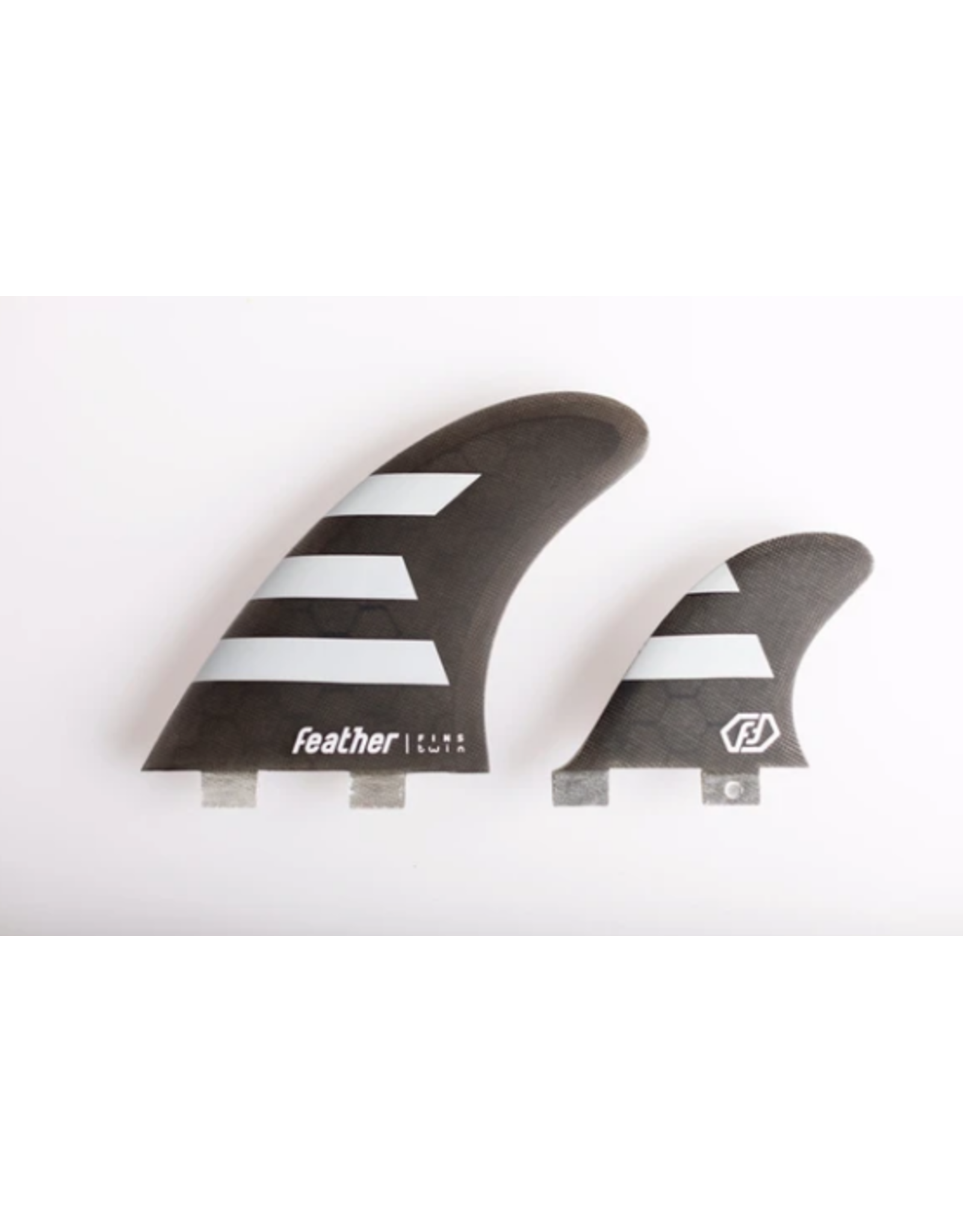 Feather Fins Feather Fins Twin 2 + 1 FCS Dual Tab