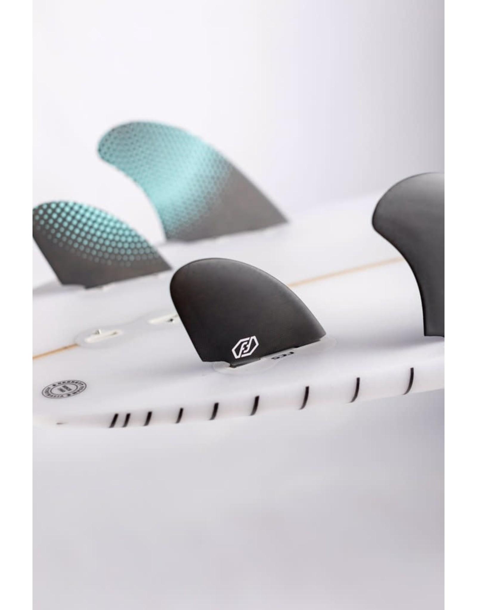 Feather Fins Feather Fins FCS Dual Tab Twin Quad Semi Keel