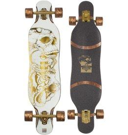 Dusters Dusters Longboard Kerby Complete Longboard Gold Foil 38