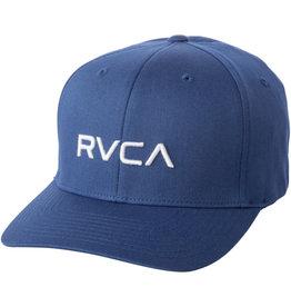 RVCA RCVA Flex Fit Cap Blue