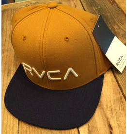 RVCA RVCA Twil Tan Navy Cap