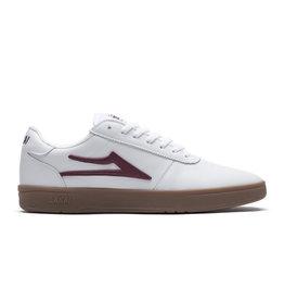 Lakai Lakai Skateboard Schoen Manchester Xlk White/Gum Leather