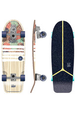 Kruuze KRUUZE Carver Skateboard IZU 30 Hydrangea