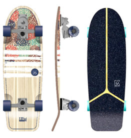 Flying Wheels Flying Wheels Surf Skateboard 30 IZU Hydrangea Lombard Surfskate