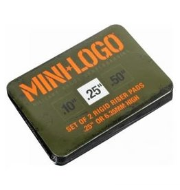 Mini Logo Mini Logo Riser Pad 0.25 Black -2-pack