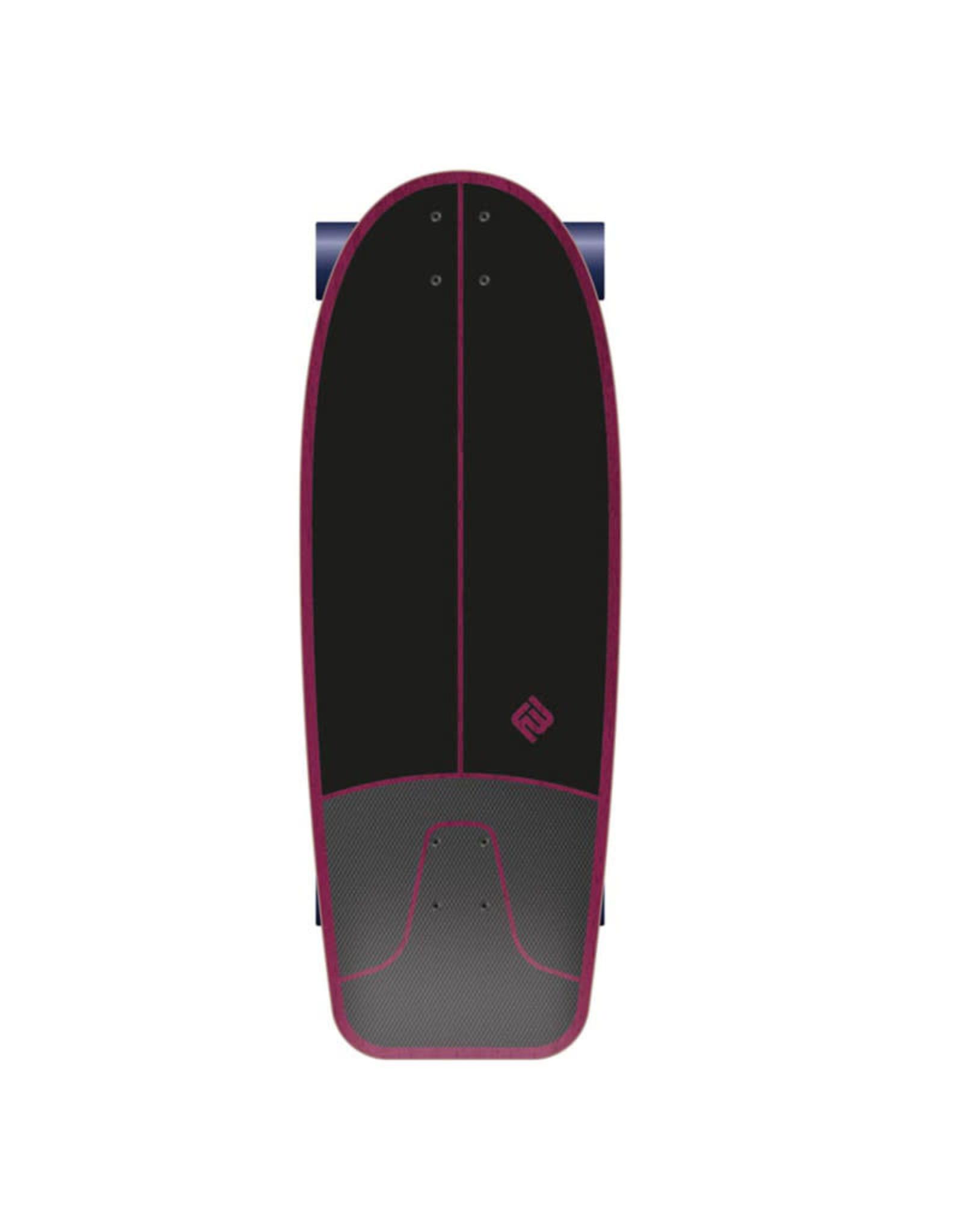 Flying Wheels Flying Wheels Surf Carver Skateboard 29 Rad