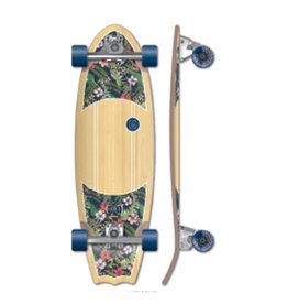 Kruuze Kruuze Surf Skateboard 31 Kauai Hibiscus Stir Surf Truck