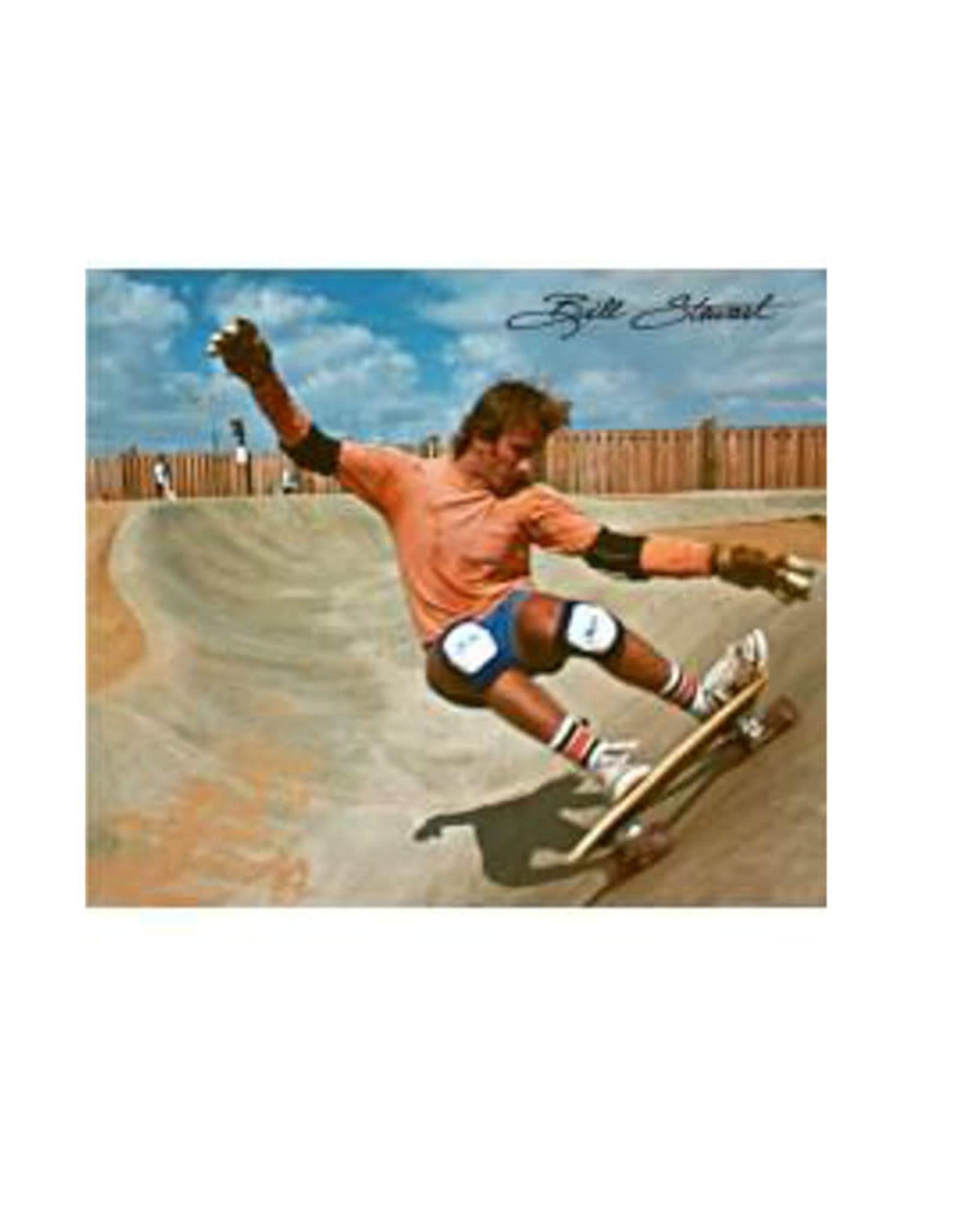 Flying Wheels Flying Wheels Skateboard Bill Stewart 28 teal Limited Edition Cruiser