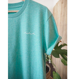 At Aloha At Aloha Stories Tee  Mint Green