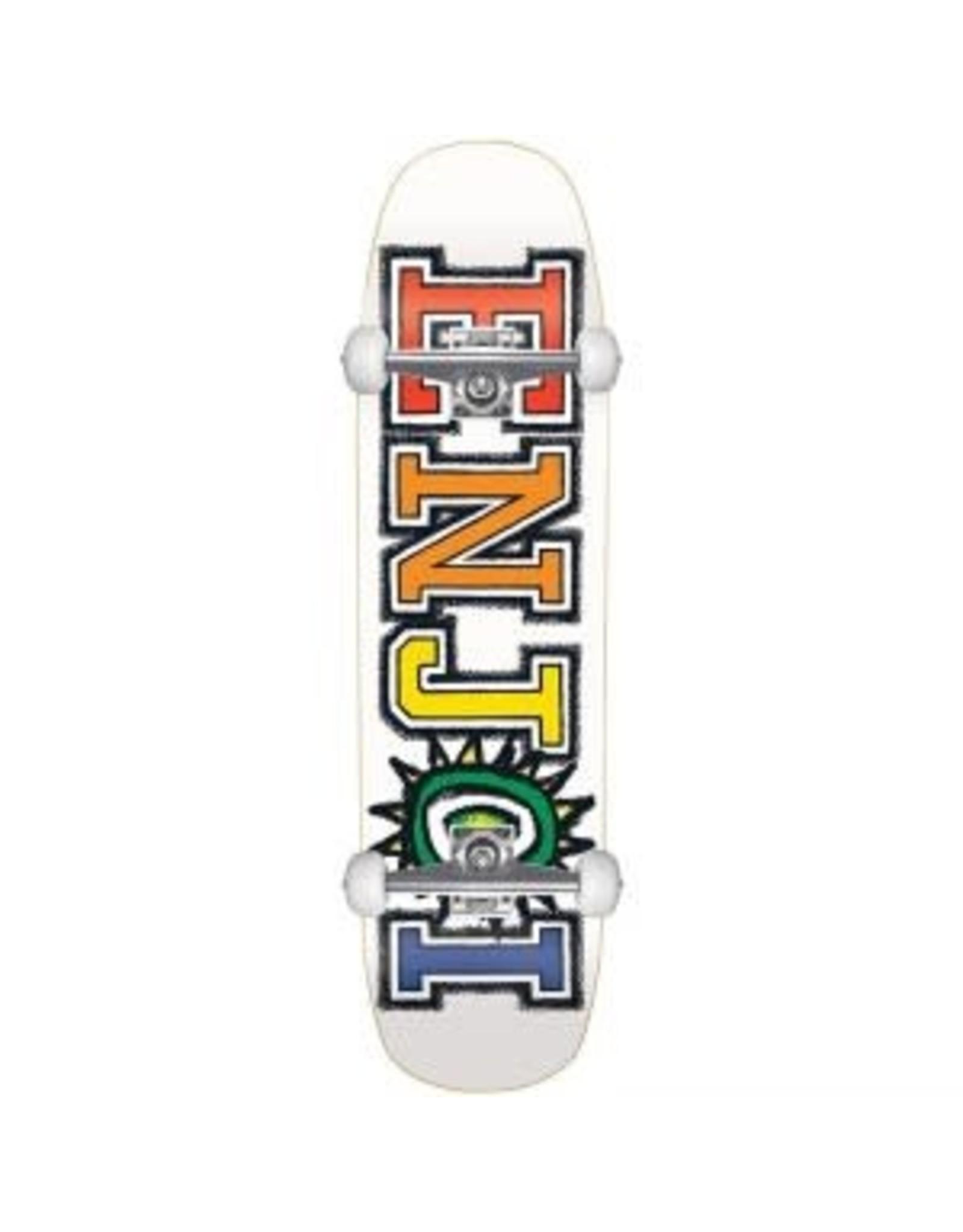 Enjoi Enjoi What's The Deal 8.5 Complete Cruiser Skateboard White 31.0